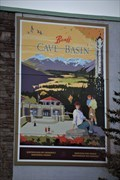 Image for Banff Cave and Basin Mural - Banff, Alberta