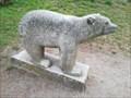 Image for O Castro's granite bear again suffers vandalism - Vigo, Pontevedra, Galicia, España