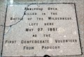 Image for FIRST - Confederate Volunteer From Paducah