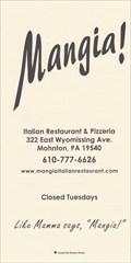 Image for Mangia Italian Restaurant - Mohnton, PA