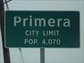 Image for Primera TX - Pop. 4,070
