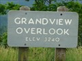 Image for Grandview Overlook Elevation Sign - Boone, NC