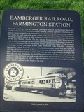 Image for Bamberger Railroad, Farmington Station