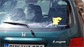 Image for Pikachu on a car - Kahla/ Thüringen/ Deutschland