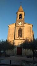 Image for Repère géodésique, Clocher de l'église , La Calmette