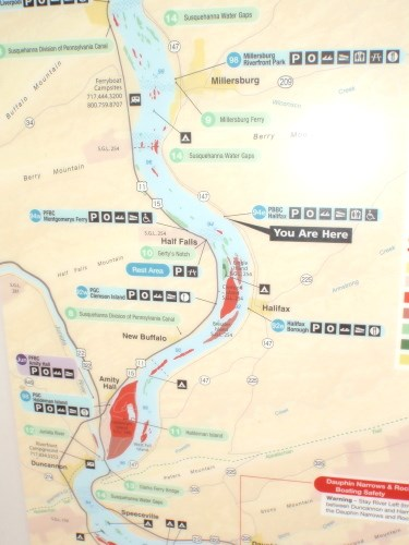 You Are Here - Susquehanna River Trail Map - Halifax PA - 'You Are Susquehanna River Map on shenandoah river map, chesapeake bay, sacramento river map, lake erie, pee dee river map, hudson river, ohio river, pawcatuck river map, missouri river, red river, allegheny river map, scioto river map, colorado river, mississippi river, monongahela river, james river, allegheny river, potomac river, columbia river map, snake river, city island, columbia river, connecticut river map, adirondack mountains, san joaquin river map, delaware water gap, roanoke river map, seneca river map, hudson river map, tombigbee river map, delaware river, saskatchewan river map, juniata river map, connecticut river, potomac river map, delaware river map, james river map, mohawk river map, tennessee river map,