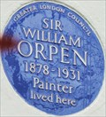 Image for Sir William Orpen - South Bolton Gardens, London, UK