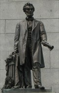 Image for Abraham Lincoln's Tomb: Statue of Abraham Lincoln - Oak Ridge Cemetery, Springfield, IL