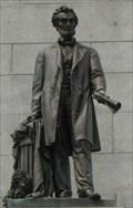 Image for Abraham Lincoln's Tomb: Statue of Abraham Lincoln - Oak Ridge Cemetery, Springfield, IL