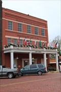 Image for 9 Flags over Texas --Nacogdoches City Hall, Nacogdoches TX USA