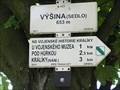 Image for Elevation Sign - Vysina.653m