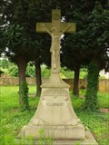 Image for Churchyard Cross at Catholic parish church St. Lambertus in Bengen - RLP /  Germany