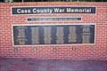 Image for Cass County Veterans' Memorial Wall - Plattsmouth, NE