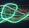 Image for Sum Of All Thrills - Artistic Neon - Epcot, Florida, USA.