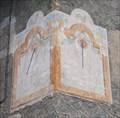 Image for Zarbula Sundial 1870 St Blaise, Briançon, France
