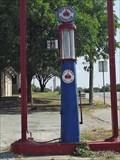 Image for Red Crown Gasoline Pump - De Leon, TX