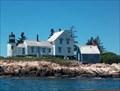 Image for Winter Harbor (Mark Island) Light