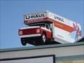Image for Spinning U-Haul Truck on Pole - Albany, NY