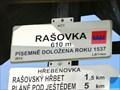 Image for Elevation Sign - Rasovka.610m