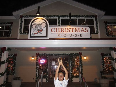 Christmas Mouse - North Myrtle Beach