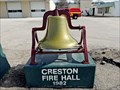 Image for Creston Fire Hall Bell - Creston, BC