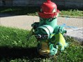 Image for Dragon Hydrant-East Aurora, NY.
