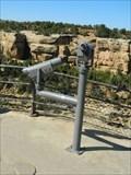 Image for MONO - Sun Temple - Cliff Palace Overlook - Mesa Verde National Park, Colorado