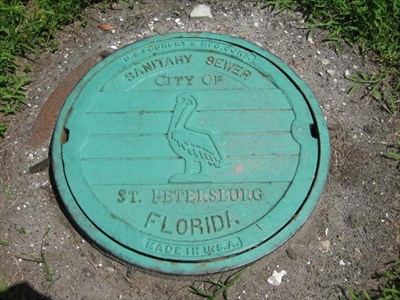 Consignment Shopspetersburg on City Of St Petersburg  Fl   Unique Manhole Covers On Waymarking Com