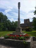 Image for Churchyard Cross, St Mary's, Hanley Castle, Worcestershire, England