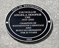 Image for Councillor Angela Hooper - Victoria Street, London, UK