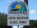 Image for Green Mountain Scenic Byway.- Montverde - Florida, USA.