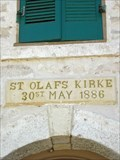 Image for 1886 - St. Olaf Kirke - Norse, TX