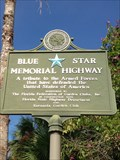 Image for US Hwy 41 Blue Star Memorial - Sarasota, Florida.