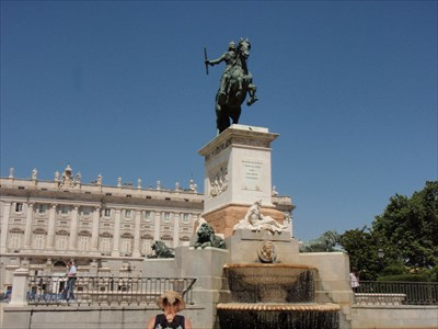 Monument to Philip IV of Spain - Madrid