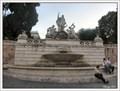 Image for Fountain of Neptune (Fontana del Nettuno) in Piazza del Popolo, Rome, Italy