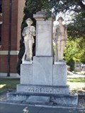 Image for World War I and Confederate Soldier Monument - Memphis, TX