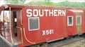 Image for Southern Railway X-581 Bay Window Caboose, Old Fort, North Carolina