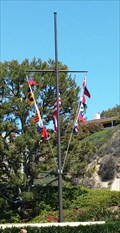 Image for Bayside Shopping Center Nautical Flagpole - Newport Beach, CA