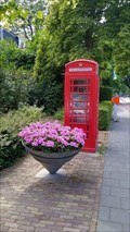Image for Red phonebox - Oosterbeek, NL