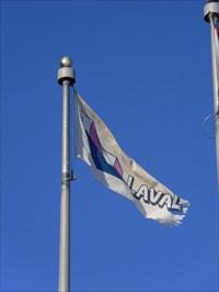 Drapeau de ville de Laval.