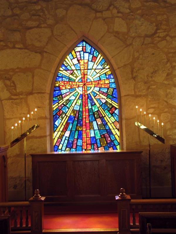 Little Church Of La Villita Stained Glass San Antonio