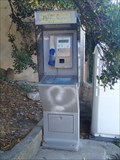 Image for A payphone, Ile Sainte-Marguerite, le port