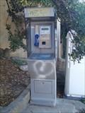 Image for A payphone, Ile Sainte-Marguerite, le port