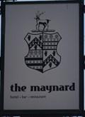 Image for The Maynard Family Coat of Arms on The Maynard Pub Sign – Grindleford, UK