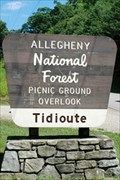 Image for Tidioite Overlook - Allegheny National Forest - Tidioute, Pennsylvania