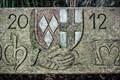 Image for Mayschoß - geschnitztes Wappen, Rheinland-Pfalz, Germany