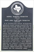 Image for Daniel Roberts and Mary Anna (Garland) Thornton