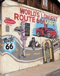 Image for LONGEST - Route 66 Map in the World - Kingman, Arizona, USA.