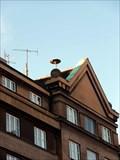 Image for Outdoor warning siren Budecska, Prague, CZ