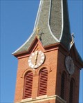 Image for St. Mary's Church Clock - Stillwater, Minnesota